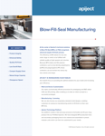 Blow Fill Seal Manufacturing Thumbnail